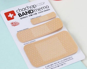 Bandage Memo / Kawaii Bandaid Memo Notes / Cute Sticky Notes / First Aid Post-It / Stationery / Stationary / School Supplies / Mini Notes