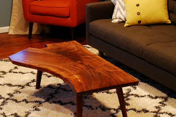 Walnut Coffee Table from Napa Valley Hardwoods
