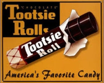 "2"" x 3"" Magnet Tootsie Roll"