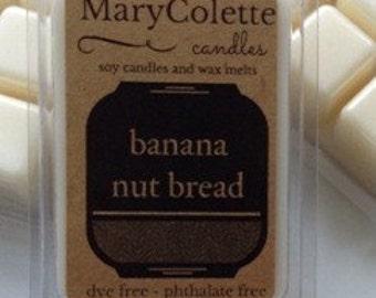 Banana Nut Bread Soy Wax Melt | Eco Friendly Scented Wax Melt | Scented Soy Melts | Banana Nut Bread | Soy Wax Tart | Soy Wax Cube