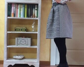 Heavy fabric skirt