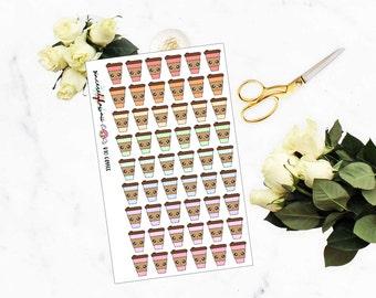 Kawaii/Cute Coffe Cup Stickers