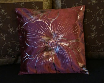 The pillow cover Pink Sunshine