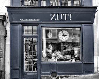 Zut! - Window Shopping - Store Front - Paris - France - Photo - Print
