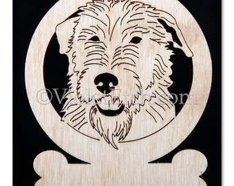 Irish Wolfhound Ornament-Irish Wolfhound Gift-Free Personalization