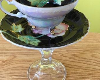 Tea Cup Jewelry Pedestal