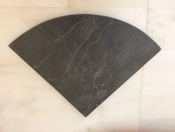 Black Slate Shower Natural Stone Corner Shelf Bathroom Caddy