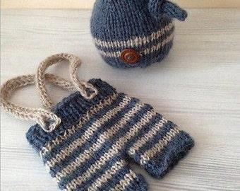 Newborn Crochet Outfit / Photo prop