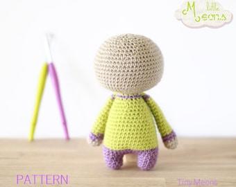 Crochet PATTERN - Body of a Tiny little Meons - Amigurumi pattern, crochet amigurumi pattern, crochet toy, pdf pattern, doll pattern