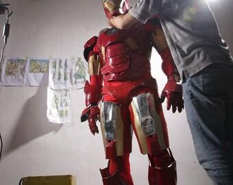 Iron Man Cosplay Costume Full Resin Fiberglass
