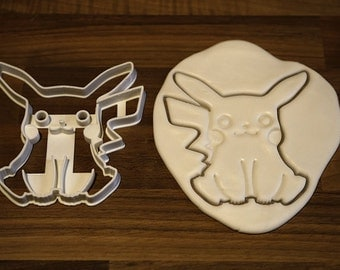 Pokemon Cookie Cutter - Pikachu 100mm (4 Inches)