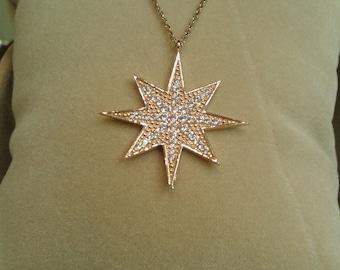 North Star - stars - star necklace