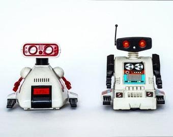 Photographic art print-robots
