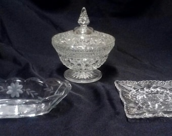 Vintage Candy Dish set