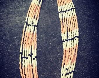 lightweight, beaded necklace