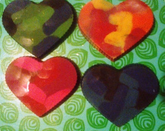 Scented heart pastels