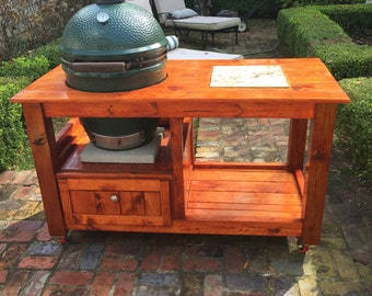 Large Green Egg Table (Free Shipping In Some Areas)