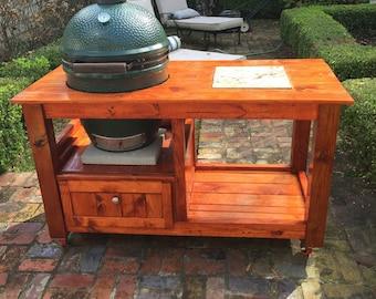 Big green egg table | Etsy