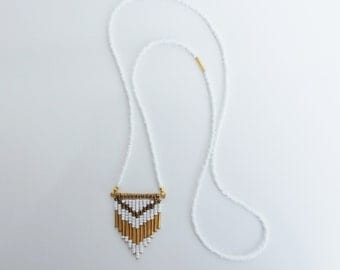 Delicate Chevron Necklace