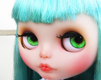 Realistic Green Blythe Doll Eyechips