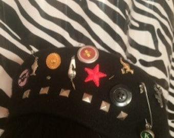 Show bangled beret