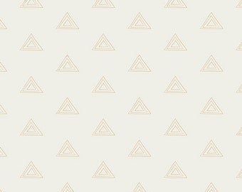 Pearl and Gold Metallic from Prisma Elements  - 1/2 Yard - Art Gallery Fabric