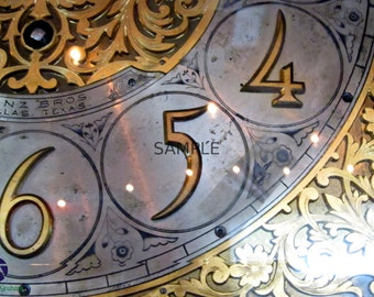 Grandfather Clock Print