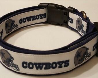 Dog Collar, Cowboys, Dallas, NFL