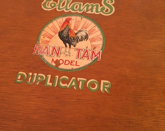 Ellams Duplicator Ban Tam Model – box only