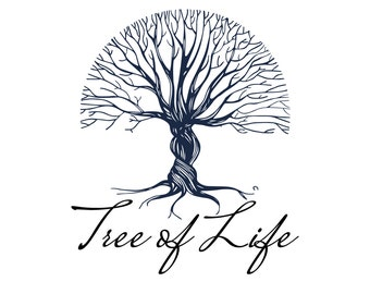 Premade logo, Custom logo design, tree nature vintage logo, logo design, business logo design, tree logo, bio logo, nature logo design