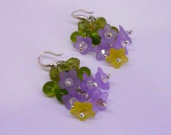 """Earrings """"Spring flowers"""""""