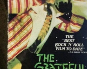 Grateful Dead 1976 VHS concert movie