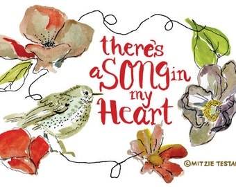 There's a Song in My Heart