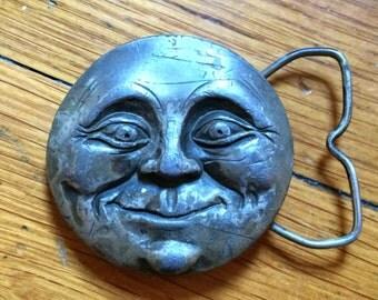 Smiling Moon Bergamot Brass Works Belt Buckle