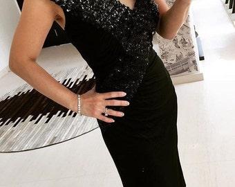 Super glam Lilli Diamond sequinned wriggle dress XS/S
