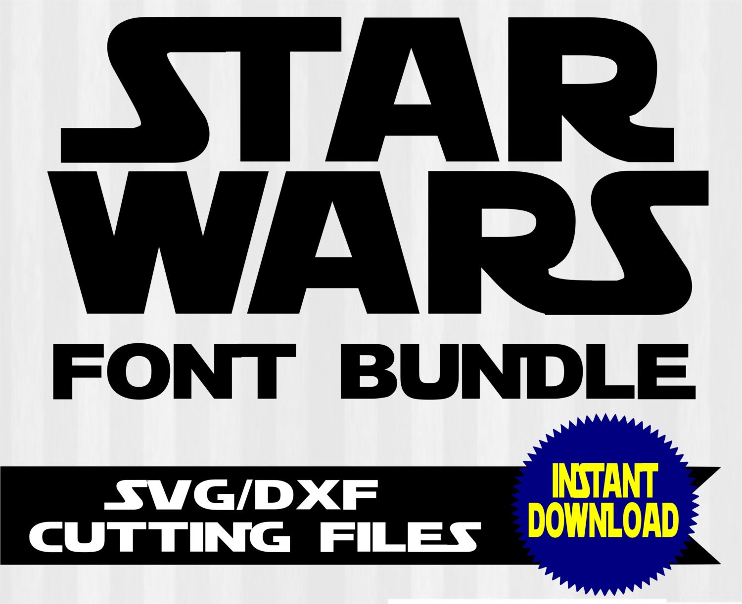 star wars font svg star wars svg star wars font by 5starclipart. Black Bedroom Furniture Sets. Home Design Ideas
