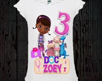 Doc McStuffins Birthday Shirt - Different Styles Available