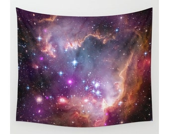 Wall Tapestry, Space Tapestry, Wall Hanging,Galaxy Nebula Universe Stars, Space Wall Art, Large Photo Wall Art, Modern Tapestry, Home Decor