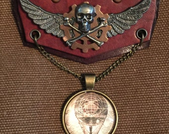 Steampunk Airship Flight Medal