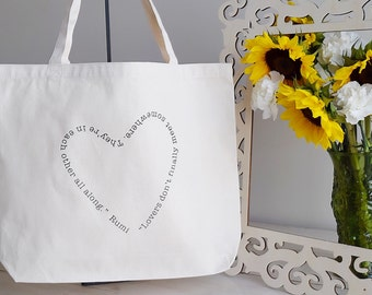 Lovers Organic Cotton Tote