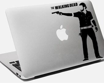 Walking Dead Decal Zobies Sticker For Macbook Apple Laptop Zombie Vinyl Sticker