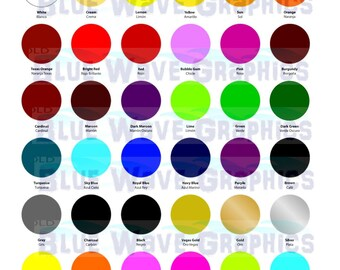 Siser Easyweed Heat Transfer Vinyl - See Color Availability - 10 pack 12x12 Sheets