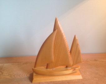 Sailing Acadian handcraft