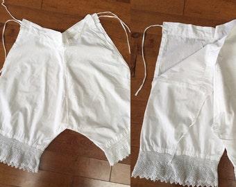 Victorian Bloomers Lace Underwear Beautiful Cotton Festival Wear