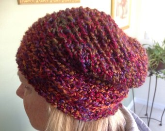 Woman's or men's slouchy beanie