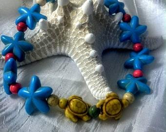 Colorful Creatures Ankle Bracelet