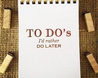 To-Do's Mini Notepad