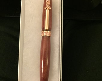 Breast Cancer Awareness Hand Crafted Pen