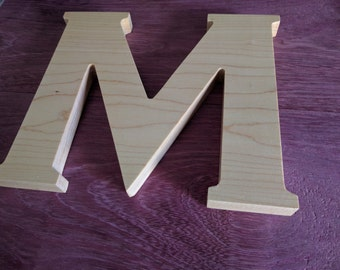 Wooden Letter for Decor - Wooden Letter for Weddings - Wooden Alphabet Letters for Wedding or Anniversary