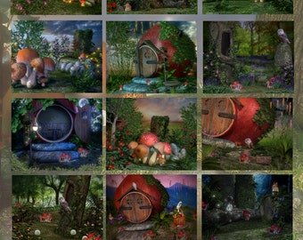 The Enchanted Forest Digital Backdrops/Photography Backdrops